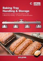 Baking Tray Handling & Storage - Eclipse Magnetics