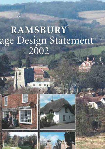 Ramsbury Village Design Statement.pdf 1008kb - Wiltshire Council
