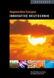Regenerative Energien innovativE HEiztEcHnik - Herzlich ...
