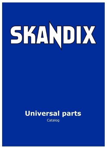 SKANDIX Catalog: Universal parts - SaabtuninG