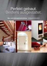 können Sie die Baubeschreibung herunterladen. - KS Hausbau GmbH