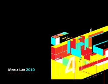 Descarga el PDF Media Lab 2010 (diseño) - Centro Multimedia