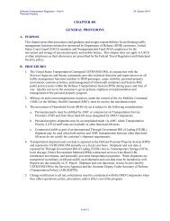 General Provisions, Part IV, Chapter 401 - United States ...