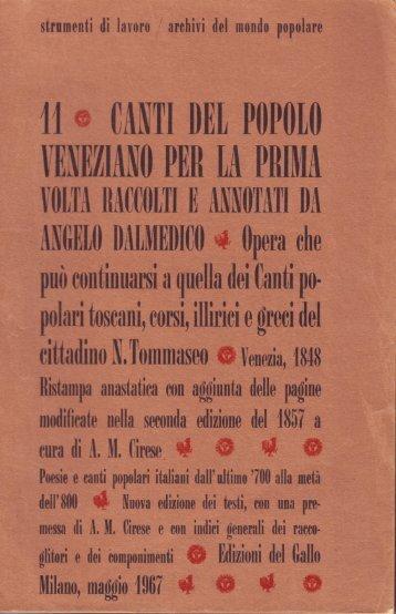 il CANTI DEL PllPlllll - Amcirese.it