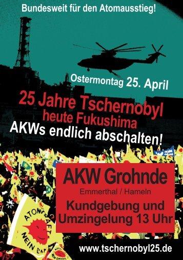 Flyer zum 25.04.2011 - Bund Hameln-Pyrmont