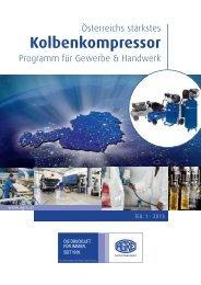 Katalog für Druckluftkompressoren (PDF) - AGRE Kompressoren