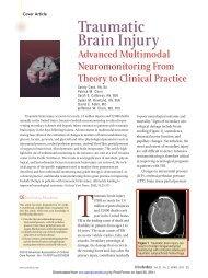 Traumatic Brain Injury - Nursing
