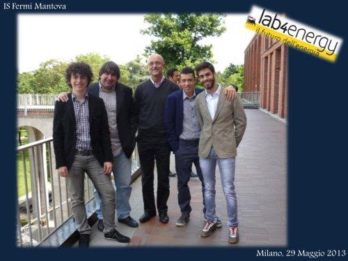 29 Maggio 2013 - Milano - Partecipazione a - Scuola21 - Fermi