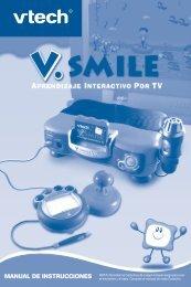 MANUAL DE INSTRUCCIONES - Console V.Smile