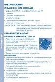 MANUAL DE INSTRUCCIONES - Console V.Smile - Page 4