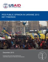 Ukraine 2013 Summary of Findings Public_Final