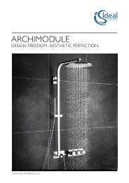 Archimodule Brochure 2012 This new generation of ... - Ideal Standard
