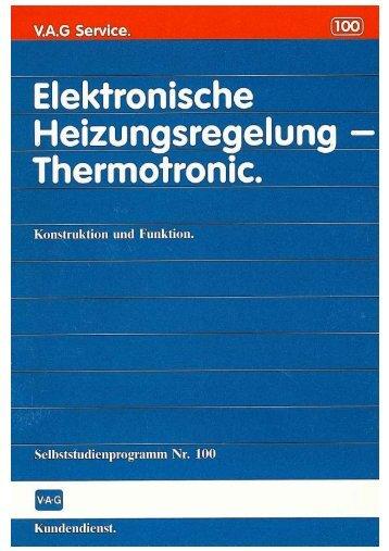 Selbststudienprogramm Nr.100 / Elektronische ... - VWClub.BG