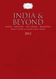 Cox & Kings India 2013 Brochure - Travel Club Elite