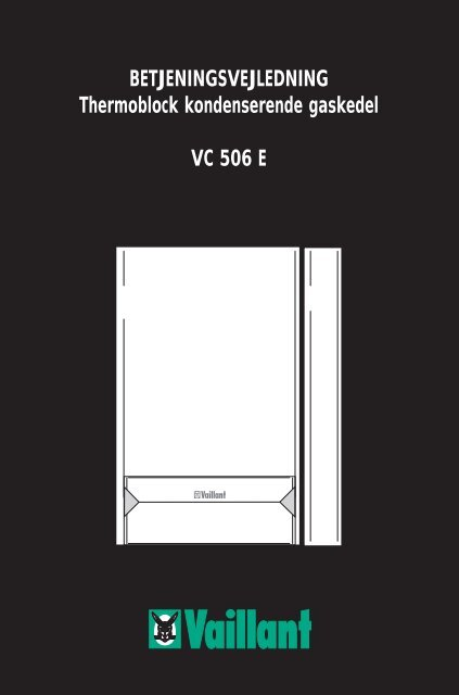 ecoTEC 506 - Vaillant