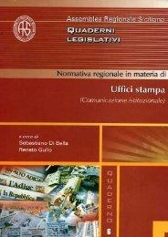 """normativa regionale in materia di """"uffici stampa"""" - Assemblea ..."""