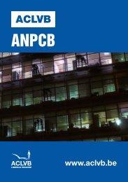 Sectorbrochure ANPCB (paritair comité 218) - Aclvb
