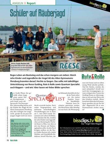 den Presseartikel herunterladen - Fischzucht Reese
