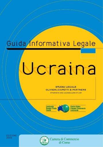Ucraina - Camera di Commercio