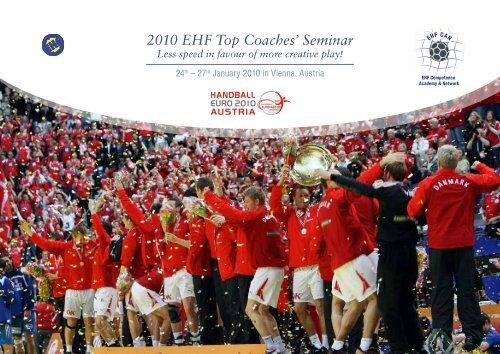 EHF Top Coaches' Seminar brochure - Activities Eurohandball ...