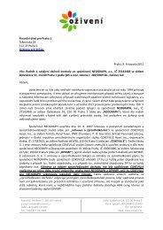 podnět k prošetření podezření z daňového úniku - Bezkorupce