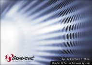 Aprilia RSV MILLE (2004) Slip-On SP Series Exhaust ... - Holtugmc.dk