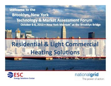 Residential & Light Commercial Heating Solutions - tech-4-you.com