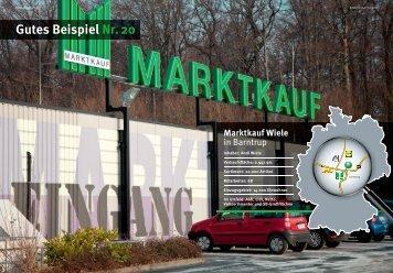 Gutes Beispiel Nr. 20 Marktkauf Wiele - WTS