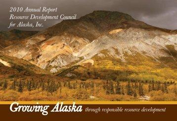 2009-2010 Annual Report - Resource Development Council