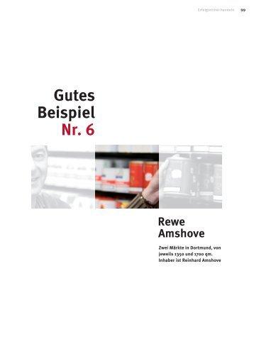 Gutes Beispiel Nr. 6 Rewe Amshove - WTS