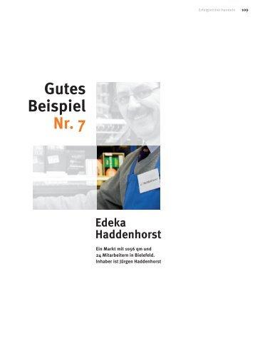 Gutes Beispiel Nr. 7 Edeka Haddenhorst - WTS