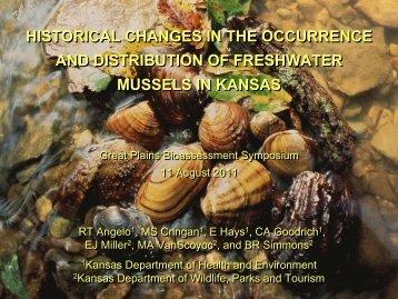historical changes in the occurrence and distribution of freshwater ...