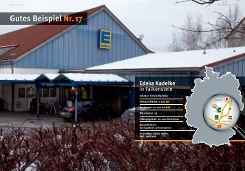 Gutes Beispiel Nr. 17 Edeka Kadelke - WTS