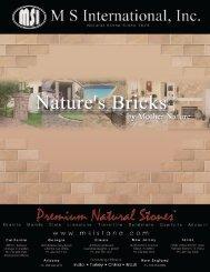 Bricks Brochure.pdf - MSI Stone