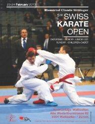 Lire la suite... - Swiss Karate Union