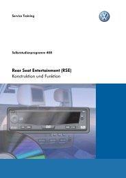 SSP408-Rear Seat Entertainment (RSE) - VWClub.BG