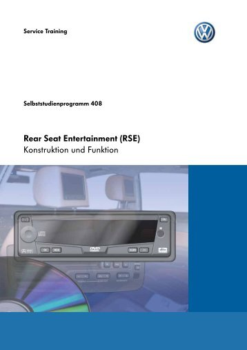 SSP408-Rear Seat Entertainment (RSE) - VWClub.BG