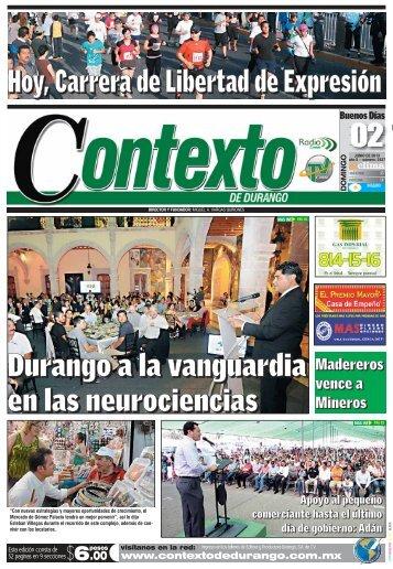 02/06/2013 - Contexto de Durango