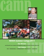 NISRA Summer Camps 2011 - Woodstock Community Unit School ...