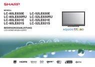 Einleitung [ DEUTSCH ] - Sharp Electronics Europe GmbH