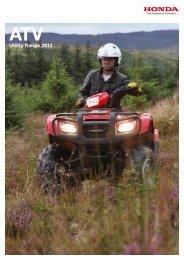 Utility Range 2012 - Paul Gowland