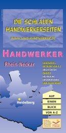 Heidelberg DIE SCHLAUEN  ... - VWS Handwerker