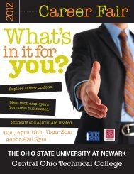 In It For You? - The Ohio State University at Newark