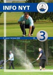 Info Nyt sep 2009 - Blåvandshuk Golfklub