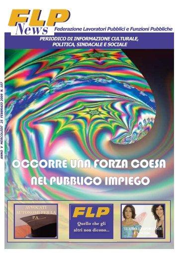 flp news n. 107 - Archivio storico 2001/2011