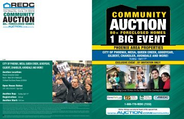1 BIG EVENT - Arizona Department of Housing