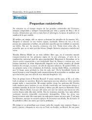 Pequeñas catástrofes - Fernando Butazzoni