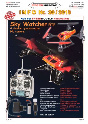 Sky WatcherRTF - Speedmodels.com