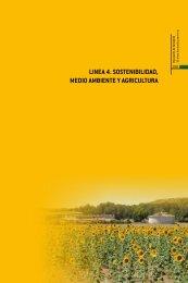 Línea 4. Sostenibilidad, medio ambiente y agricultura