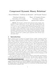 Compressed Dynamic Binary Relations